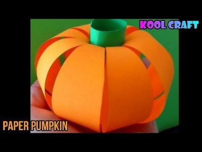 DIY  Paper PUMPKIN for Halloween (2018) ???????? Easy DIY Paper Crafts ????????