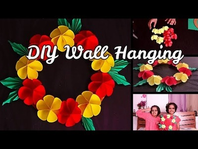 DIY Wall Hanging || easy craft ideas for kids || SaanveeKhushee