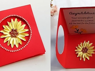 Greeting Card Making Ideas - congratulation card