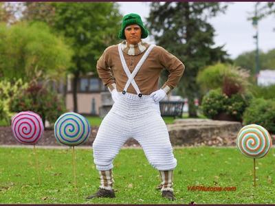 How to Crochet Tutorial: DIY Green Costume Wig by YARNutopia