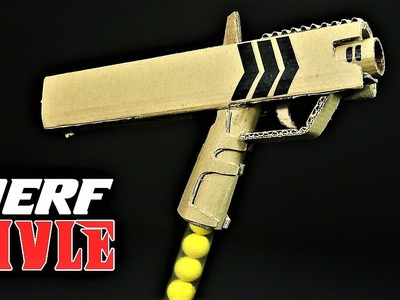 How To Make A Nerf Rival Gun With Cardboard That SH00TS