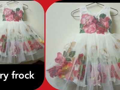 How to make fairy frock baby frock balloon frock princess frock cutting stitching tutorial Barbie fr