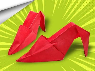 How to make Paper heels ????   DIY crafts   minute crafts for kids   easy origami
