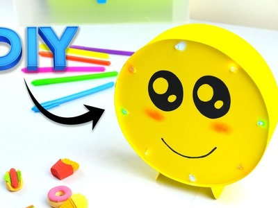 How to make Smile Lamp | DIY Easy Room Decor