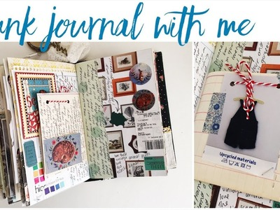 Junk Journal With Me - Ep 13   Journaling Process Video