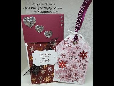 Large Tag gift box Stampin' Up!