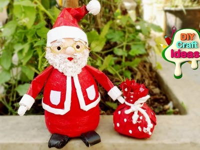 Last Minute DIY Christmas Decor and Gift Ideas | santa diy Newspaper | diy craft ideas