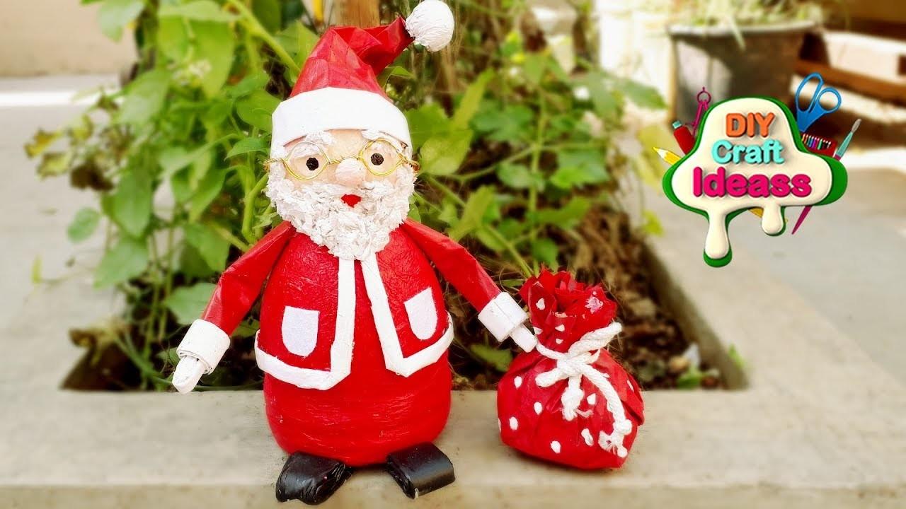 Last Minute DIY Christmas Decor and Gift Ideas | santa diy Newspaper | diy craft ideas