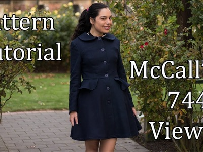 Make a gorgeous tailored coat! – McCall's 7442 Pattern Tutorial