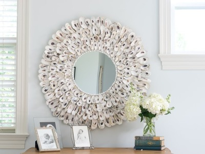 Make an Oyster Shell Mirror