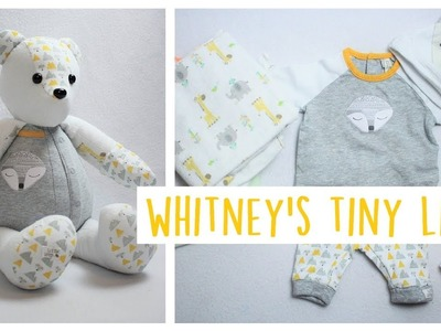 Memory Bear from Newborn Outfit   Week in the Life   Whitney's Tiny Life