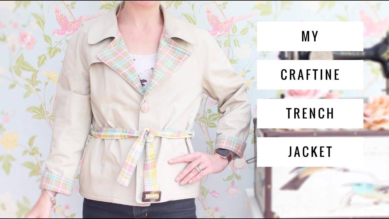 My Craftine trench coat