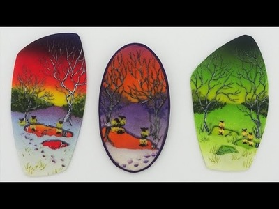 Painting with Polymer Clay, A Winter's Eve