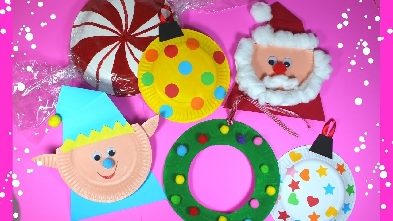 Paper Plate Christmas Craft for Preschoolers | Easy Kids Craft