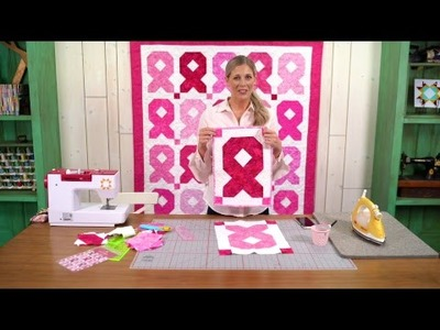 REPLAY: Make a Pink Ribbon Wall Hanging with Misty
