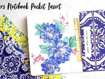 Travelers Notebook Pocket Insert Tutorial | Part 2 |
