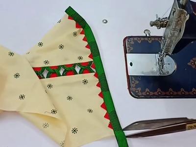 Very Beautiful and creative Sleeves design.latest kurti sleeves design