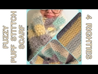 Stitch, Left Hand Crochet Study of Texture Afghan: Week 6 Stitch