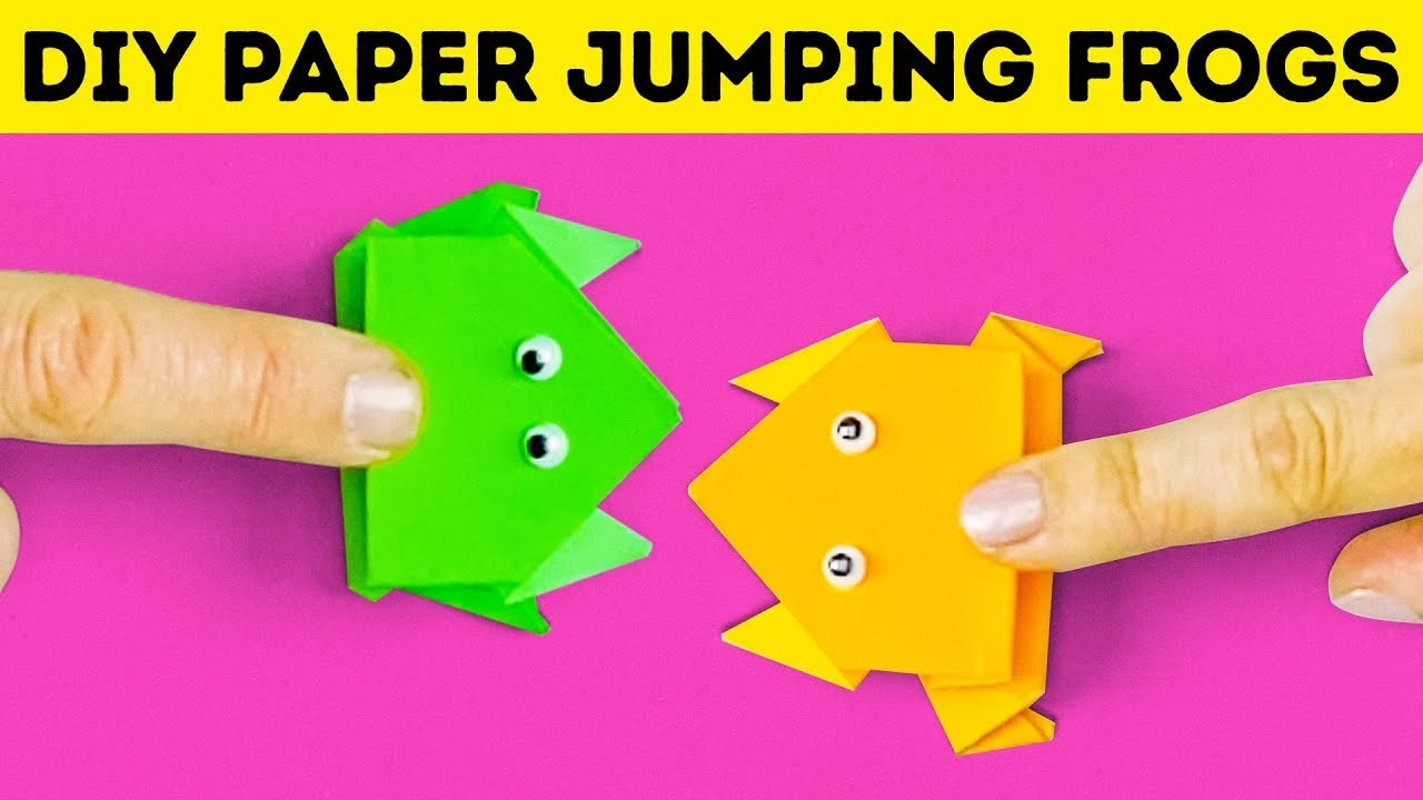 10 SIMPLE AND FUN PAPER IDEAS