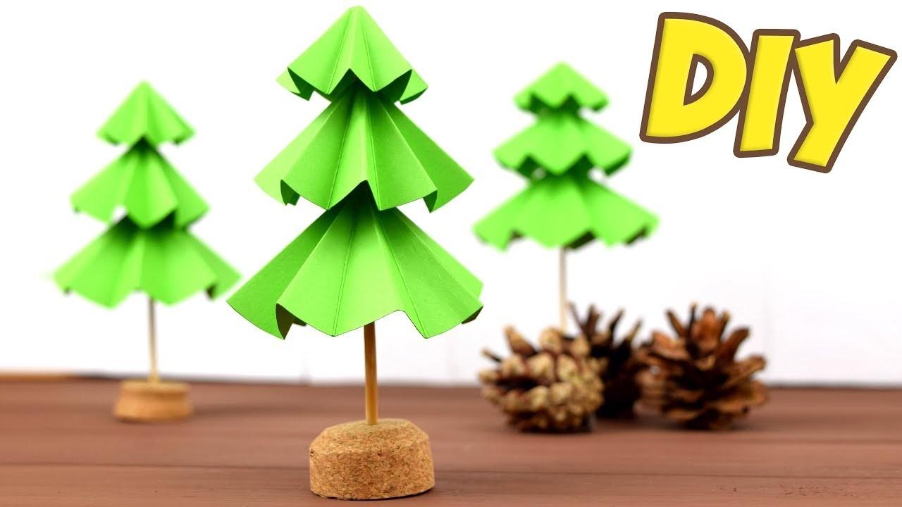 3D NEW YEAR TREE ???? DIY paper