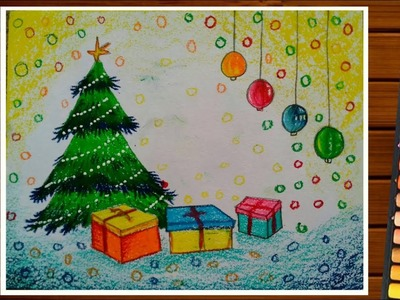 Christmas Day Drawing.Christmas Day Drawing For Beginners How To Draw Christmas