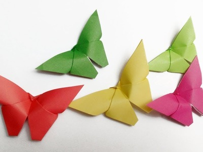 Diy Diy Crafts Paper Butterflies Very Easy Sama Crafts Diy