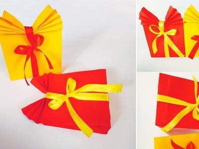 DIY Cute Paper Bags For Gift ♥