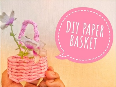 DIY Paper Basket Perfect for Wedding Souvenir