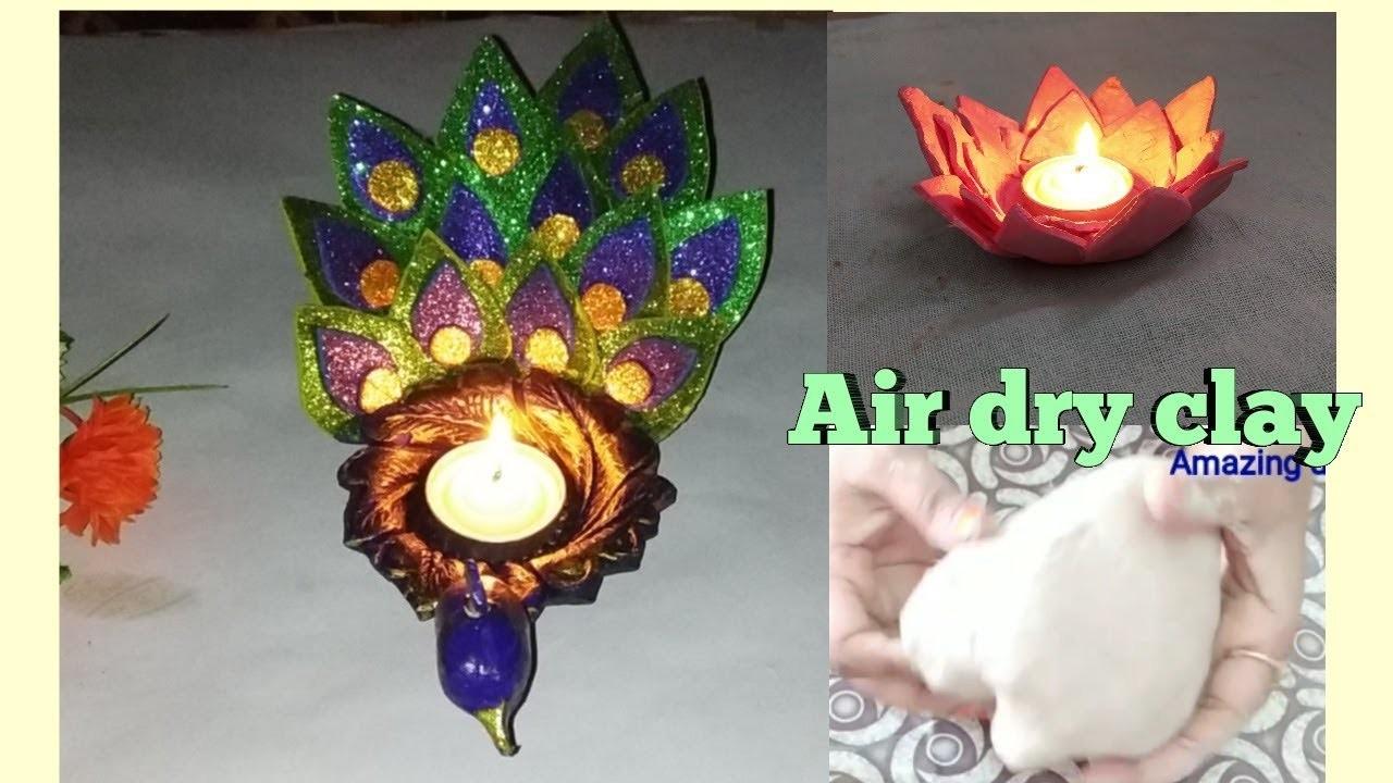 DIY    paper mache clay in hindi   air dry clay