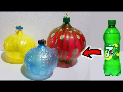 DIY-Plastic bottle craft ideas with Balloon Best out of waste craft with balloon & Plastic bottle