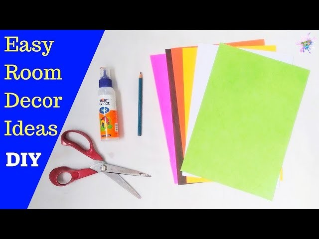 DIY Wall Decoration Ideas | Paper crafts for home decoration | Easy room decor