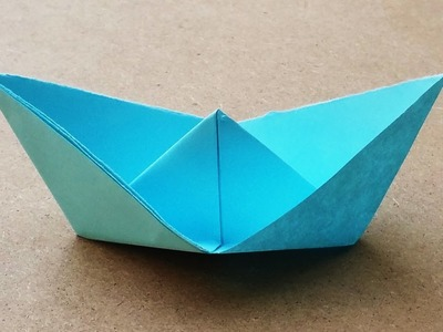 Easy and Simple Origami Paper Boat - SS Georgie Paper Boat