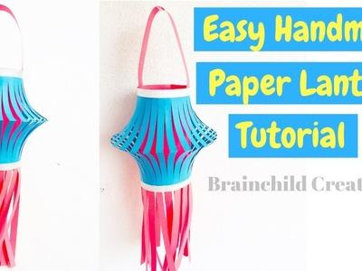 Handmade Lantern For Diwali | Diwali Decoration Ideas | DIY Paper Lantern