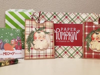 Happy Mail from Gretchen and another  Stampin' Up Paper Pumpkin Idea