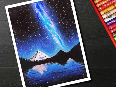 Night Sky Drawings Easy