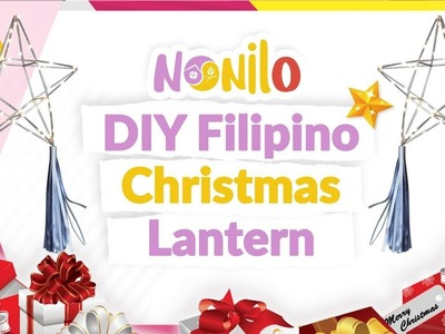 How to Make a Filipino Christmas Parol (Star Lantern)