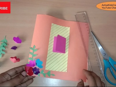 Easy How To Make A Handmade Greeting Card For New Year
