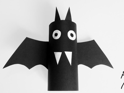 How to make BAT from TOILER PAPER roll DIY