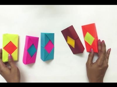 How To Make Origami Paper Pen Stand