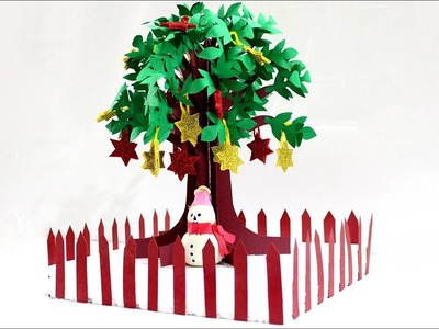 Learn How To Make Paper Tree Christmas Tree Decoration Christmas