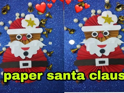 Cute Santa Card -Free Template to make this homemade Christmas card   300x400