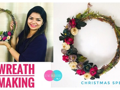 How To Make Your Own Christmas Wreath. Easy Spring Wreath.Make Your Own Christmas Wreath#Christmas