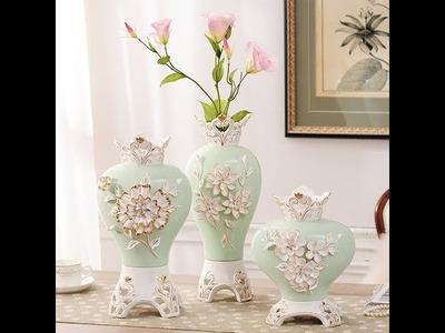 How To Make Paper Flower Vase Minimalist Interior Design