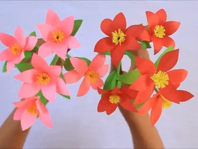 Origami Origami Paper How To Make Beautiful Flower With Paper Easy