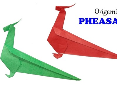 How To Make A Paper Bird Easy For Kids Origami Ideas EP1. (สอนพับ ... | 300x400