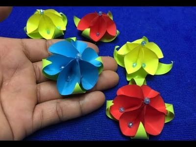 Paper flower marking for decoration or DIY Paper flower at you by your own at home