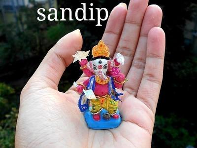 Smallest GANESH IDOL(গনেশ ঠাকুর) | HOW TO MAKE GANESH IDOL | BENGALI STYLE GANESH IDOL