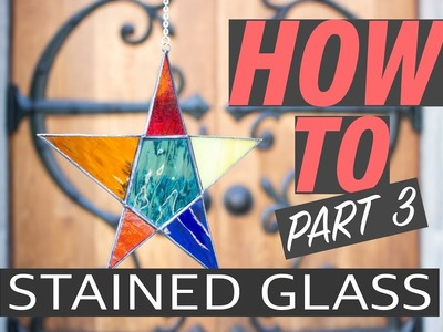 Stained Glass DIY Part 3: Soldering, patina, and polishing