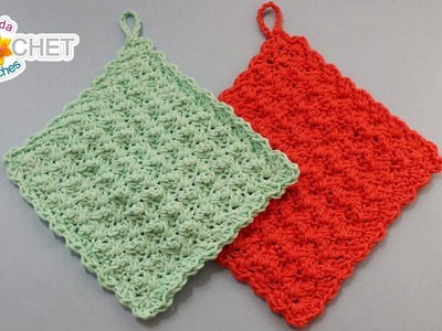 A Pretty Simple Dishcloth - Crochet Quick Fix