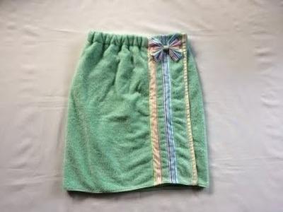 #DIY Bath Towel Wrap | Tutorial